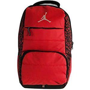 NIKE AIR JORDAN Red/Blk All World Backpack School